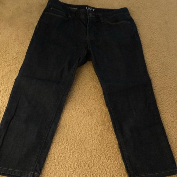 LOFT Denim - Ann Taylor Loft Modern Crop Jeans